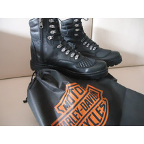 Bota Harley Davidson Fat Boy Couro Waterproof E Fivela 95