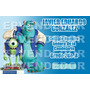 24 Etiquetas Escolares Monster University - Calcomanias Epv
