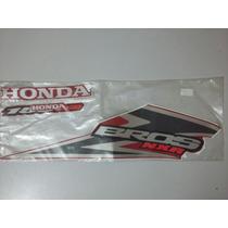 Jogo De Adesivos Originais Moto Honda Bros 150