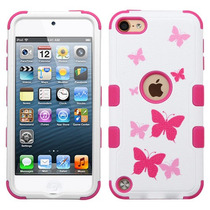 Funda Protector Triple Layer Apple Ipod Touch 5g / 6g Blanco
