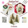 Cortante Navidad, Pinos Arbol 3d (4 Cortantes)