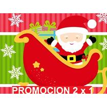 Kit Imprimible Navidad Candy Bar Tarjetas Invitaciones 2x1