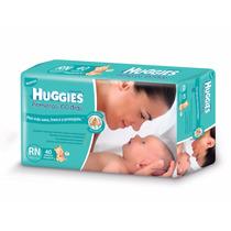 Pañales Huggies Primeros 100 Dias Recien Nacido X 40 Unidade