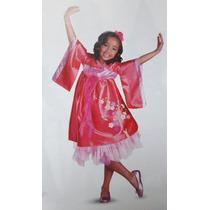 Disfraz 7 A 8 Años Vestido Niña Princesa Geisha Japonesa