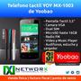 Teléfono Tactil Yoy Mx-1003 Yoobao Doble Sim Radio Garantia