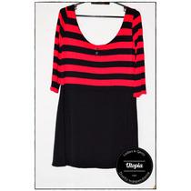 Vestido Modal Estampado Talle 1-2-3-4 - Diseño Independiente