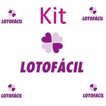 Kit Lotofácil - 75 Planilhas Aumente Suas Chances De Ganhar!