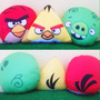 Coleção Almofadas Angry Birds - Almofadas File Angry Birds