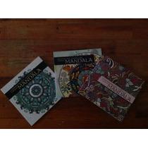 Libros Para Colorear Mandalas 3 Títulos Diferentes