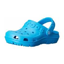 Crocs Hilo Clog (toddler/little Kid), Ocean. Talla 19/20