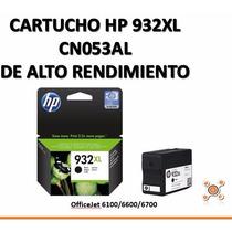 Cartucho Hp 932xl Cn053al Officejet 6100 6600 6700 Original