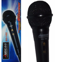 Microfono Profesional Sound Audesbo Modelo Au-102 Alambrico