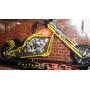 Moto Chopper Custom Bike Colección 24cm Escala 1:12 Diecast
