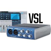 Placa Interface De Audio P/ Gravação De Bandas, Musicos, Djs