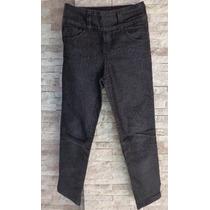 Pantalon De Jeans De Nena Talle 8/36 Color Negro