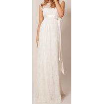Vestido Gestante Grávida Noiva Madrinha Festa Casamento Civi