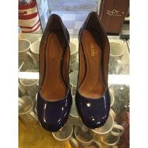 Sapato Arezzo Azul Cobalto