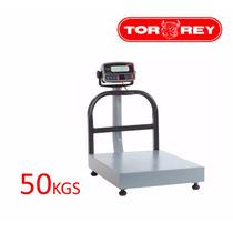 Bascula De Recibo Cap.50kg/100lb Eqb-50/100 Torrey