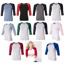 Poleras Polos Tshirt Sin Estampar Para Damas-varones Y Niños