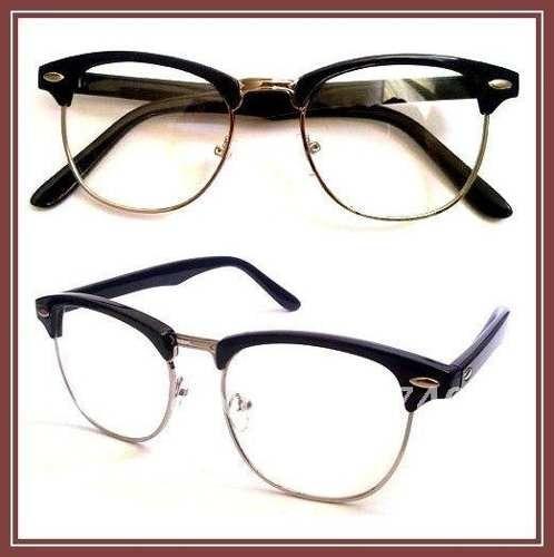 da089a9e3d413 Armação Para Óculos De Grau Retro Estilo Clubmaster - R  79