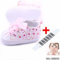 Zapatos Para Bebe Algodon Divino + Termometro Y Envio Gratis