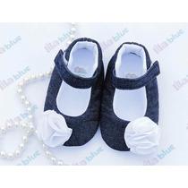 Preciosos Zapatos De Tela Marca Lilablue