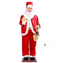 Papai Noel Gigante Sino Dançante Sensor Decoração Natal1,80m