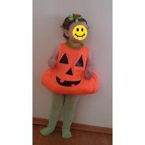 Disfraz Calabaza Bebé Halloween Envío Gratis