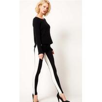 Legging Importada - Listrada - Excelente Qualidade Veste Gg