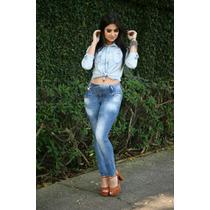 Calça Jeans Com Lycra Darlook