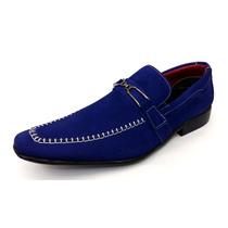 Sapato Masculino Social Couro Nobuck De Luxo Estilo Italiano