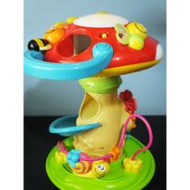 Cogumelo De Atividades Bebê Com Som Luz Tenho Fisher Price
