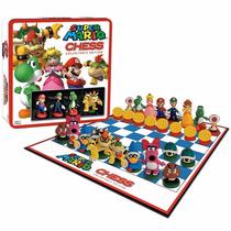 Super Mario Bros Nintendo Ajedrez Edición Coleccion Original