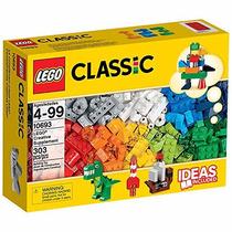 Lego 10693 Caixa / Balde Criativo Blocos Lego Classic 303 Pc
