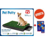 Baño Ecológico Portátil Para Perros Pet Park Deluxe+educador