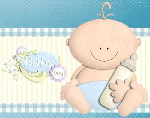 Kit Imprimible Baby Shower Niño Y Niña Tarjetas Cotillon Bs 2500