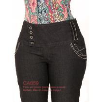 Calças Jeans Plus Size Skinny Grandes Temos Sawary Vakko 659