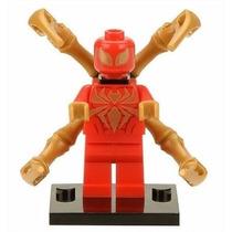 Homem Aranha De Ferro Lego Compatível Super Heroes Marvel