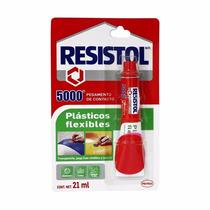 Pegamento Resistol 5000 Plásticos Flexibles De 21 Ml