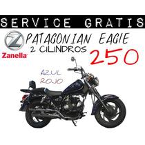 Moto Zanella Patagonia Eagle 250 0km 2017