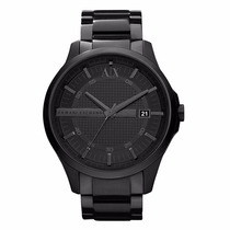 Reloj Armani Exchange Mod. Ax2104 Negro Para Caballero