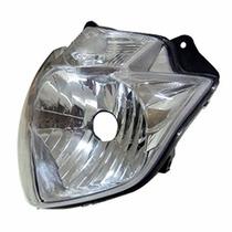 Bloco Óptico Farol Yamaha Fazer 250 2011 Em Diante Plasmoto