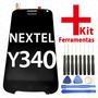 Tela Display Lcd Frontal Huawei Y340 Nextel + Kit Ferramenta
