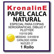 Rollo Albanene Calca Natural Kx554 Kronaline 0.91x50 Mts N3
