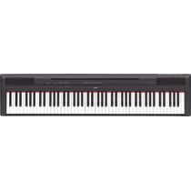 Piano Digital Yamaha P115, 88 Teclas Preto - 1 Ano Garantia