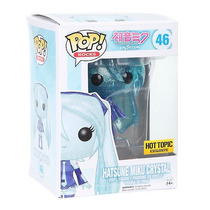 Funko Pop Hatsune Miku Exclusivo Vocaloid Transparente Vinyl