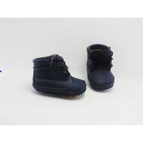 Zapato Bota 100% Piel Niño Suela Entrenadora Baby Gagashop 5