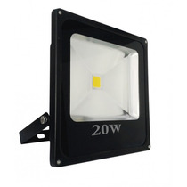 Refletor Holofote Led 20w Bivolt Branco Frio Prova D
