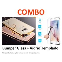 Protector Espejo + Vidrio Templado Grand Prime G530