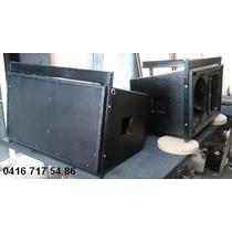 Line Array,bajos,monitores,texturizado Diseño Y Fabricacion
